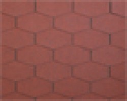 BARDOLINE Clasic Triunghiular Mixed Brun