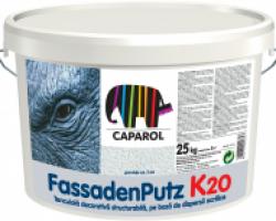 Caparol Fassadenputz K10 baza alba