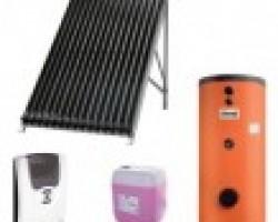 Pachet panouri solare cu tuburi vidate Ferroli ECOTUBE NEW