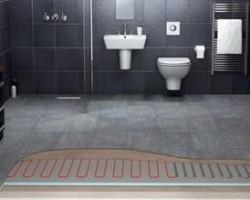 Incalzire electrica prin podea sub placi si piatra