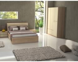 Dormitor BERNA D3 - CREM LUCIOS