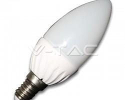 Bec LED E14 4W Lumanare 3000K VT-1818 4216 V-TAC