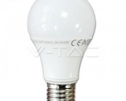 Bec LED E27 7W A60 Thermoplastic 3000K VT-2007 4376 V-TAC