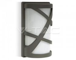 Lampa gradina E27 gri inchis IP44 VT-745 7065 V-TAC