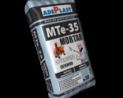 MTe-35 Mortar ciment-var exterior