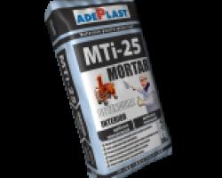 MTi-25 Mortar ciment-var interior