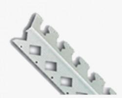 Profil PVC curb protectie muchii - alb