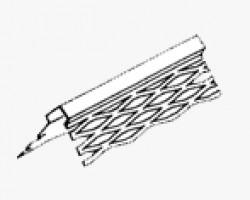 Profil zincat de colt pentru tencuieli interioare