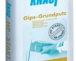 Glet de ipsos Knauf HP Start pt. aplicare manuala