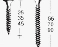 Surub autoperforant Knauf LN