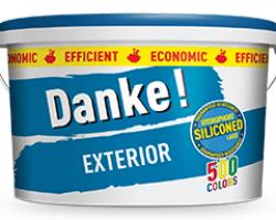 Vopsea lavabila de exterior Danke EXTERIOR 5L