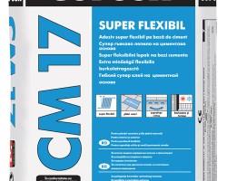 Adeziv super-flexibil pentru gresie, faianta si piatra naturala