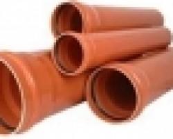 Teava PVC SN4 110/3,2 1m