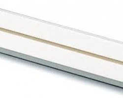 Sina plastic PVC pentru perdele gk 1 canal