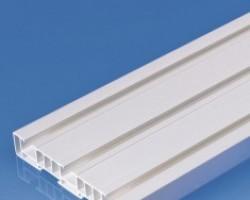 Sina plastic PVC pentru perdele gk 3 canale