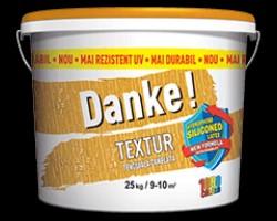 Tencuiala decorativa Danke! Textur