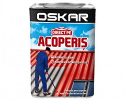 Vopsea OSKAR direct pe Acoperis 2.5L