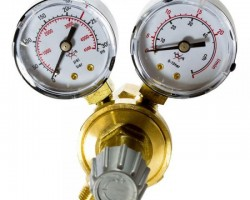 Regulator gaz cu 2 manometre