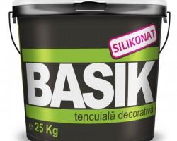 Tencuiala decorativa siliconata BASIK