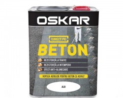 Vopsea acrilica Direct pe beton Oskar de exterior - 2.5L