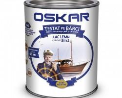 Lac pentru lemn OSKAR YACHT 3 în 1, incolor - 0,75L