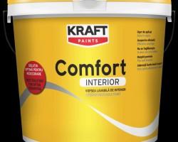 Vopsea lavabila KRAFT Comfort Interior 2,5L
