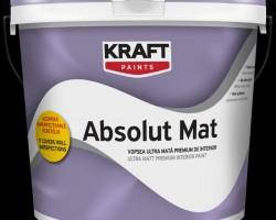 Vopsea lavabila KRAFT Absolut Mat interior 8,5L