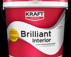 Vopsea lavabila KRAFT Brilliant Interior 8,5L