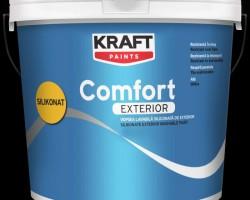 Vopsea lavabila KRAFT Comfort Exterior Silikonat 8,5L