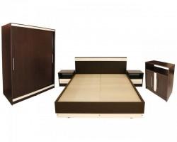 Dormitor Verona cu pat 140x200 cm